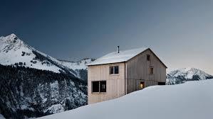 Mountain Chalet Home Plans Winter Retreats Dezeen Magazine
