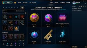 surrender at 20 8 1 pbe update arcade boss world crafting new