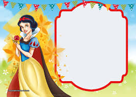 free printable snow white invitations complete edition drevio