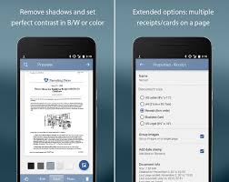 Scan Business Cards Android Best Document Scanner Apps For Android