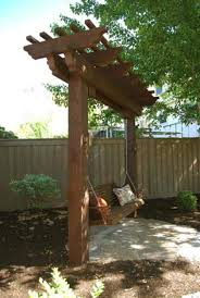 swing arbor plans 339 best backyard images on pinterest backyard ideas creepers and
