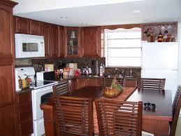 galley kitchen design for having modern style of kitchen home