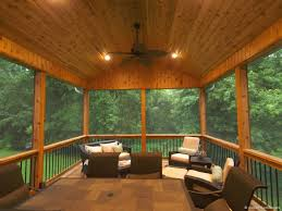 Screened In Patio Designs by Minnetonka Screen Porch Aspen Remodelers