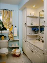 creative storage ideas for small bathrooms small bathroom shelves curved corner wall mount medium mirror