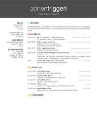 latex resume format latex templates curricula vitaeresumes latex
