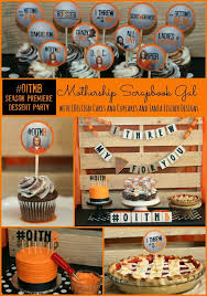 dessert party inspired by orange is the new black season 2