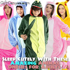 sleep cutely with these amazing animal onesies for adults gift