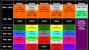 target black friday timetable urban kickboxing timetable