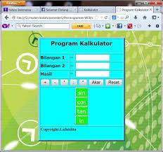 membuat web sederhana dengan javascript membuat kalkulator sederhana menggunakan javascript ochadita