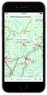 Usfs Fire Map United States Forest Service Deploys The Avenza Pdf Maps App For