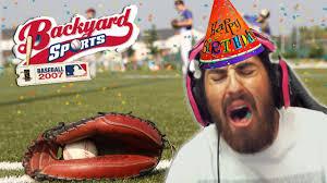 backyard baseball 2007 worst birthday ever funny moments