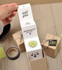 invitations for bridesmaids best 25 bridesmaid invitation box ideas on brides