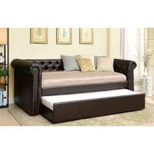 leather daybed wayfair