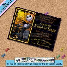 skellington birthday invitations 100 images nightmare before