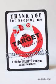 teacher appreciation gift idea target gift card holder landeelu