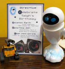 walle birthday party invitations custommade by paperandtaigh