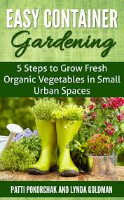 Patio Vegetables by Healthy Organic Woman Container Gardening Grow Fresh Organic