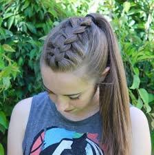 hair braided into pony tail best 25 french braid ponytail ideas on pinterest french braid