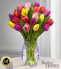 ftd spring tulip bouquet by better homes and gardens pesche u0027s