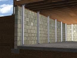 Mold On Basement Walls Cinder Block - powerbrace wall repair system installation in philadelphia