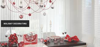 holiday decorating ideas by galleria shades and shutters in walnut
