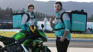 food courier deliveroo launches in wollongong illawarra mercury