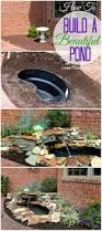 diy backyard pond u0026 landscape water feature u2013 urban gardening ideas