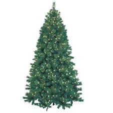 jeco inc 7 5 green artificial tree with 600 lights and