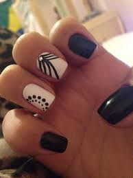 180 best black u0026 white nails images on pinterest make up black