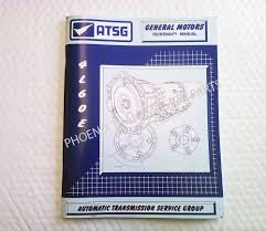 4l60e transmission atsg technical service and repair rebuild