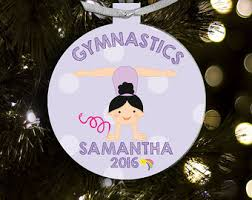 personalized gymnastics ornament gymnast ornament