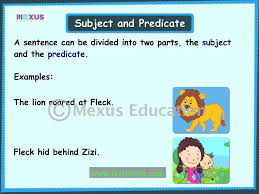 learn english grammar subject and predicate youtube
