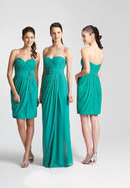 green bridesmaid dresses pictures