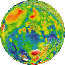 The Best Map Of The World by New Gravity Map Suggests Mars Has A Porous Crust Nasa