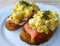 egg salad ina garten ina garten egg salad tartines easy healthy weight watchers recipes