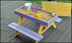 Free Plans For Building A Picnic Table by How To Build A Kids Picnic Table And Sandbox Combo Diy Projects