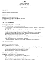 best formats for resumes biology resume template venturecapitalupdate
