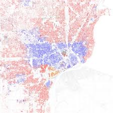 Detroit In World Map by Race And Ethnicity 2010 Detroit Maps Of Racial And Ethnic U2026 Flickr
