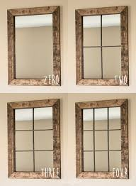 Large Wall Mirrors For Living Room Best 20 Rustic Mirrors Ideas On Pinterest Farm Mirrors