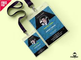 id card graphic design free creative identity card design template psd by mohammed shahid