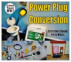 installing a marinco 30 amp rv power plug conversion kit