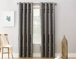 sun zero elidah striped blackout thermal grommet single curtain