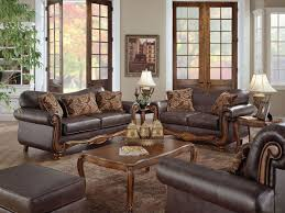 leather livingroom sets table lamps brown unique leather sofa sets for living room with