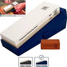 sharpening stones for kitchen knives amazon com premium knife sharpener stone kit grits 1000 6000 best
