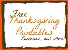 free thanksgiving printable happy thanksgiving