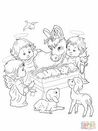 coloring pictures of nativity scene yahoo search results
