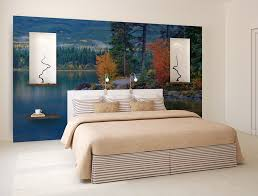 blue mountain lake wall mural self adhesive photo mural blue mountain lake wall mural self adhesive photo mural