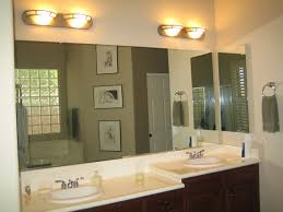 Two Sink Vanity Bathroom Double Sink Vanity With Mirrormate And Wall Sconces For