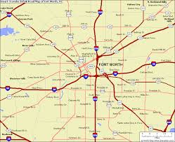 fort worth map fort worth map
