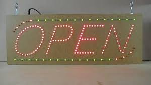 build an led open sign open source hardware project youtube